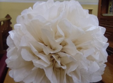 Paper pompom