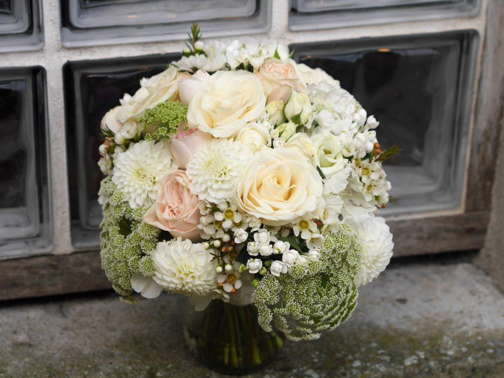 Peach pastel bouquet