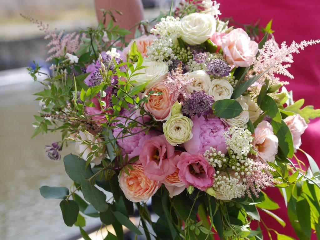 Wild weding bouquet