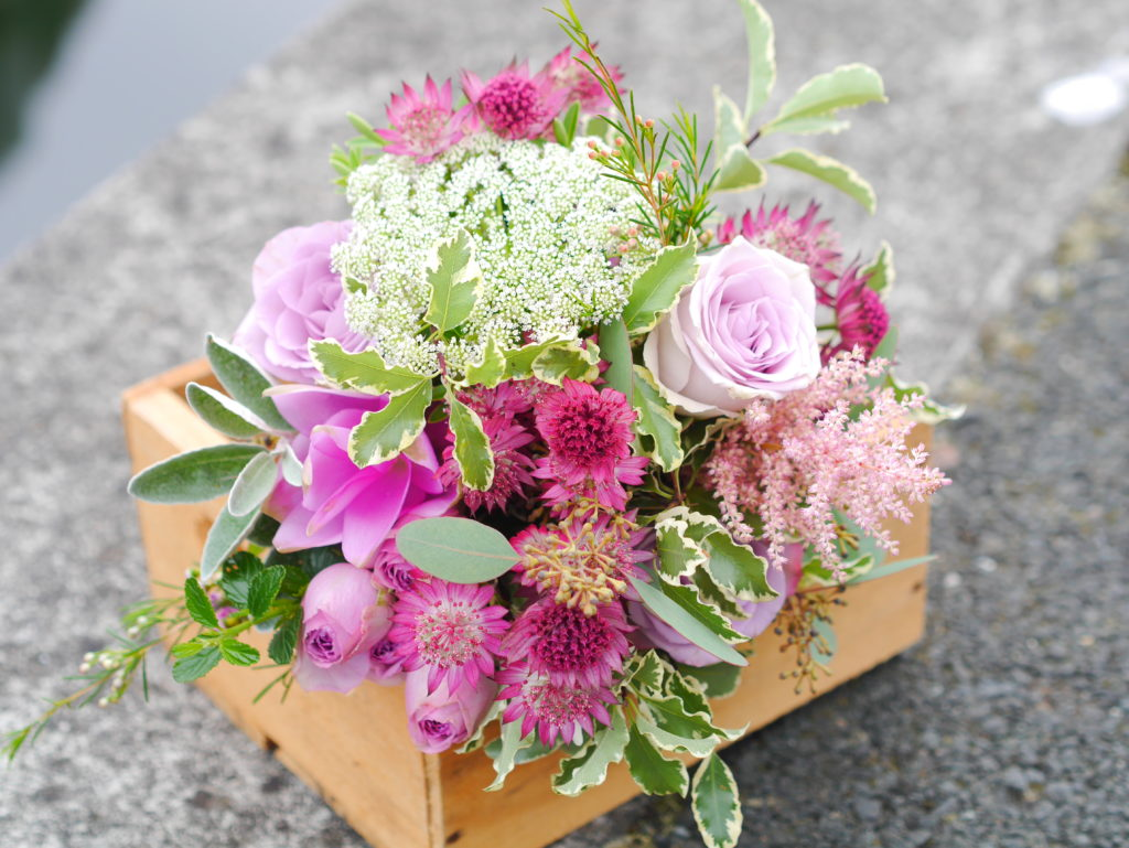 Relaxed dome bouquet